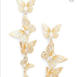 Kate Spade Social Butterfly Dangle Earrings
